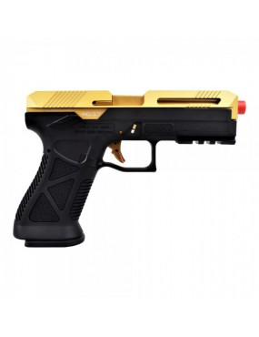 HFC GAS PISTOL G-17 ADVANCED GOLD [HG 182G]