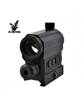 RED DOT 1x22 CON LASER ROSSO JS TACTICAL [JS-HD22X]