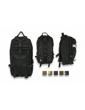 BARBARIC TACTICAL BACKPACK COLOR BLACK 600D [34877-NE]