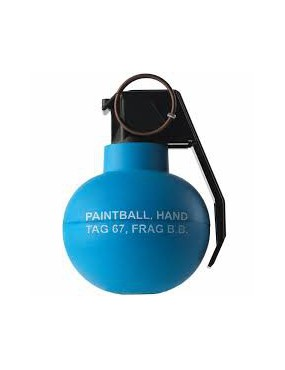 TAGINN TAG-67 HAND GRENADE PIROTECNICA PAINTBALL [TAG-67 BLUE]