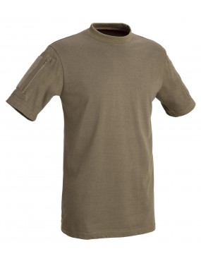 TACTICAL T-SHIRT SHORT SLEEVES WITH POCKETS DEFCON 5 [D5-1739 CB XL]