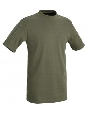 TACTICAL T-SHIRT SHORT SLEEVES WITH POCKETS DEFCON 5 [D5-1739 OD XL]