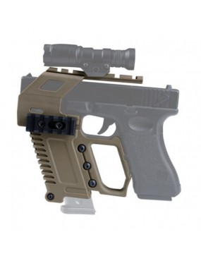 RAIL BASE LOADING DEVICE FOR GLOCK TAN SERIES PISTOLS [WO-GB48T]
