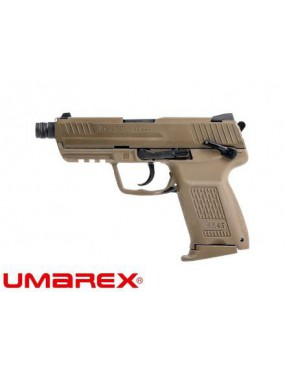 PISTOLA A GAS HK45CT H&K FLAT DARK EARTH SCARRELLANTE UMAREX [2.6336-RM]