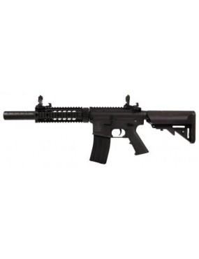 ELECTRIC RIFLE M4 NY FORCES SILENT OPS BLACK HANDGUARD METAL COLT [180863]