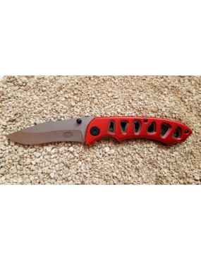 COLTELLO TATTICO TASCABILE ROSSO STEEL CLAW KNIVES [CW-K70]