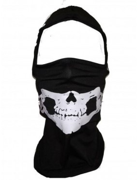 BALACLAVA WITH SKULL DRAWING WITH WINGS [30566]
