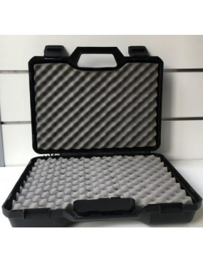 CASE NEGRINI RIGID BLACK PISTOL HOLDER 34X21X10 CM [2.0514]