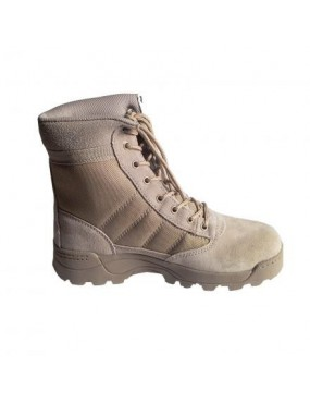 TAN BOOTS IN ECO LEATHER-CORDURA WITH HIGH GRIP SIZE 40 [RYP-BM01T40]