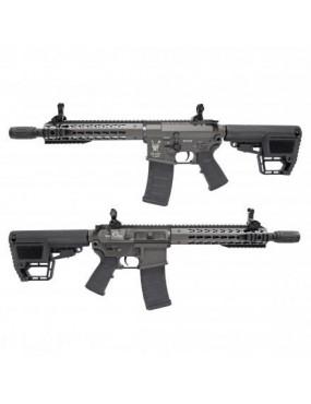 ELECTRIC RIFLE KING ARMS M4 TWS KEYMOD CQB GRAY [KA-AG-198-GY]