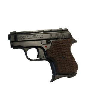 BRUNI MOD. AUTO 315 CAL. 8MM WOOD GRIPPERS [BR-315K.8]