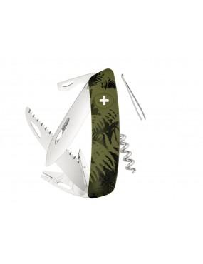 SWIZA TT05 TICK TOOL OLIVE FERN KNIFE [C410 902050]