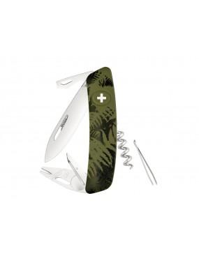 SWIZA TT03 TICK TOOL OLIVE FERN KNIFE [C410 702050]