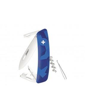 SWIZA C03 CAMOUFLAGE BLUE URBAN KNIFE [C410 302030]