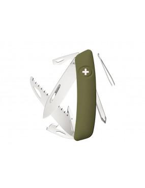 SWIZA KNIFE D06 OLIVE GREEN [C410 601050]