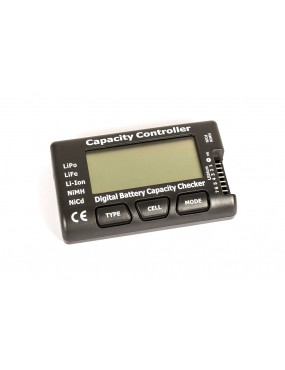 TESTER DIGITALE LCD PER BATTERIE LIPO LIFE LI-ION NIMH NICD [MNTR1]