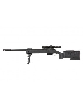 SNIPER SA-S03 CORE ™ SPEARGUN WITH OPTICS AND BIPOD - BLACK [SPE-03-026059]