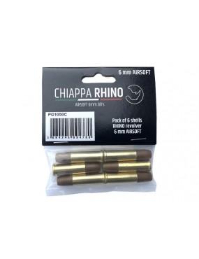 CHIAPPA RHINO CARTRIDGES 6MM X 6 [PG1050C]