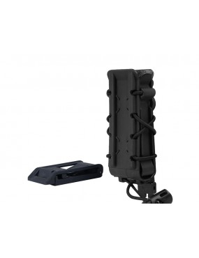 BIG FOOT 9MM MAGAZINE POUCH (POLYMER - ADJUSTABLE ELASTICATED RETENTION -...