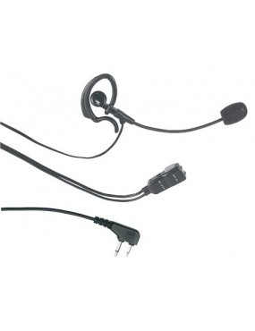 MIDLAND EARPHONE WITH MOBILE ARM MICROPHONE MA 30-L [C648.03]