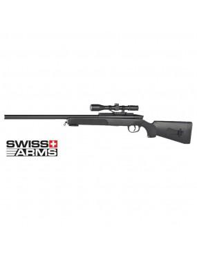 SNIPER M6 BLACK EAGLE SWISS ARMS A MOLLA CON RED DOT [280726]