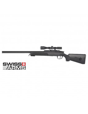 SNIPER M6 BLACK EAGLE SWISS ARMS SPRING WITH RED DOT [280726]