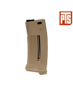 PTS MAGAZINE EPM1 250 ROUNDS TAN FOR ELECTRIC M4 [PTS237009]