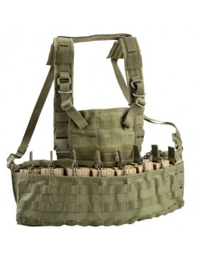 TACTICAL VEST CHEST RIG MOLLE RECON GREEN OUTAC [OT-RC900 OD]