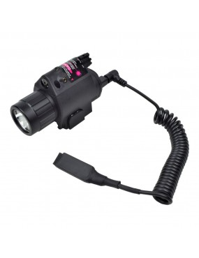 D/BOYS LED TORCH WITH RED LASER [DB058]