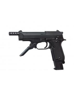 M93R II A GAS SCARRELLANTE FULL METAL SINGOLO-RAFFICA  [16164]