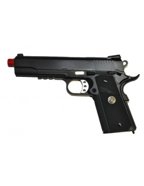 M1911 MEU BLACK GAS BLOWBACK FULL METAL [W055B]