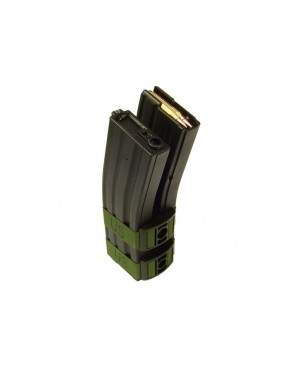 ELECTRIC MAGAZINE 1300pcs BLACK FOR M16 / M4 / SCAR-L SERIES [M106B]