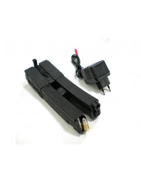 2 CARICATORI ELETTRICI NERO 350pz PER SERIE MP5  [B40]