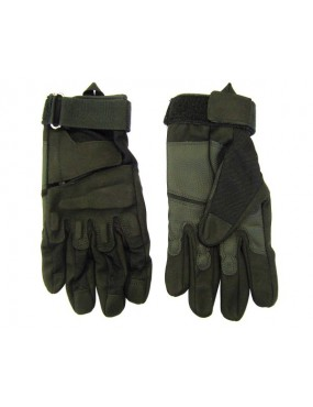 BLACK CORDURA TACTICAL GLOVES REINFORCED WITH ECO LEATHER TG. XL [GL38B XL]