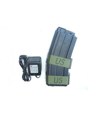 800pcs BLACK ELECTRIC MAGAZINE FOR M16-M4-SCAR-L SERIES [M105B]