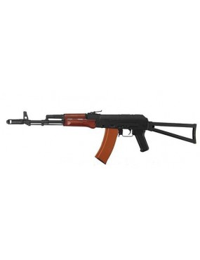 AK74 TACTICAL LONG BLOWBACK VOLLMETALL / HOLZ [1010]