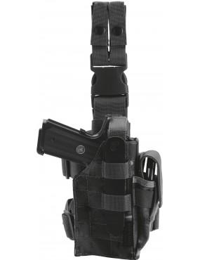 DEFCON 5 BLACK LEG HOLSTER MOLLE LEG PISTOL HOLSTER [D5-DP025 B]