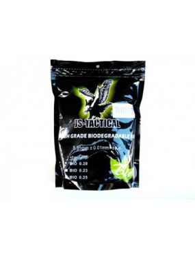 BIODEGRADABLE BB'S JS-TACTICAL 0,23gr 4350 Stück [JS-BIO 0,23]