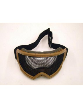 SNOW TAN MASK WITH NET [6058T]