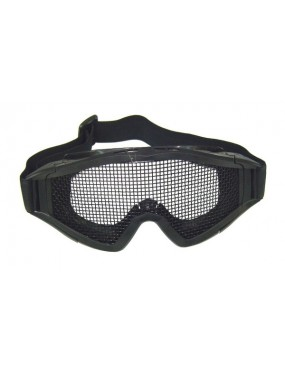 SNOW TACTICAL BLACK MASK WITH NET [6060B]