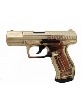 WALTHER P99 DAO CO2 GOLD FULL METAL [2.5684-2J]