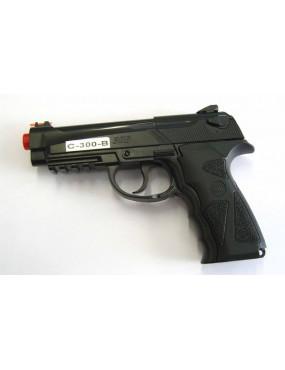 B92 SPORT 300 ABS CO2 WIN GUN BLACK PISTOL [C 300B]
