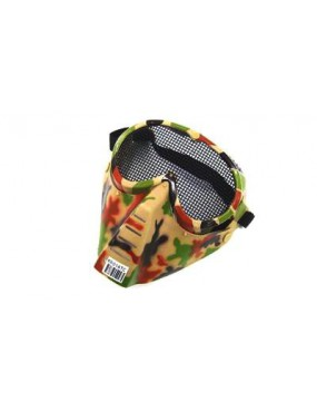 VEGETABLE FACIAL MASK WITH NET [KR014TC]