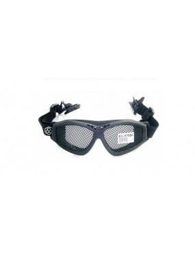 EXAGON BLACK NET PROTECTIVE GLASSES HELMET MOUNT [EX-M76BK]