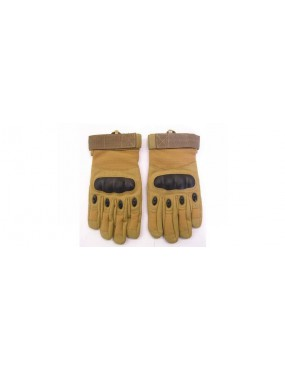 TACTICAL GLOVES TAN WITH REINFORCED KNOBS SIZE XL [EV-G617TXL]