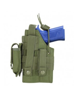 HOLSTER FOR BERETTA WITH SPRING ATTACHMENTS FOR RIGHT AND LEFT GREEN...