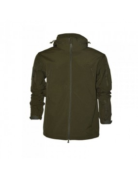 SOFTSHELL GREEN BRAND PATTON TG S [1020G S]