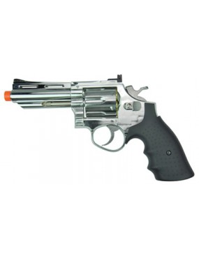 REVOLVER SOFTAIR 132 SILVER HEAVY [HG 132S]