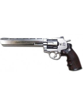 REVOLVER CO2  703 SILVER FULL METAL [C 703S]