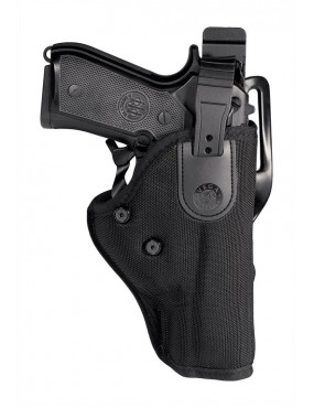 HOLSTER FOR BERETTA 92-98 THERMO-FORMED IN CORDURA FROM THE SIDE [SP200]